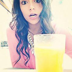 Her hair is amaze beans! Bethany Mota on YouTube: Macbarbie07 (my favorite youtuber :)