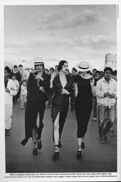 Helena Christensen, 1990 by Peter Lindbergh