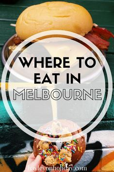 Trying to decide where to eat in Melbourne, Australia? Check out my favourite Melbourne restaurants, bars, cafes and sweet stops. Melbourne Restaurants, Melbourne Travel, Melbourne Florida, Melbourne Food, Visit Melbourne, Melbourne Shopping, Tasmania Australia, Australia Tourism, Visit Australia