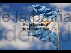 Aurora (canción a la bandera argentina - song to the argentine flag) Aurora, All Over The World, Picture Quotes, South America, Spanish, Flag, Songs, Youtube, Videos
