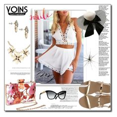 """""""Yoins #"""" by malina-husgovic ❤ liked on Polyvore featuring Whiteley, Bomedo and WALL"""