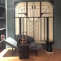 J'adore... When your luggage just looks happy in the lobby of Hotel Bachaumont paris. Photo by missettie