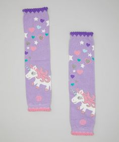 Take a look at this Purple Melody Leg Warmers by Baby Legs on #zulily today!