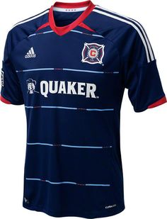 Chicago Fire Away Jersey  Available here: http://www.shopchicagofire.com/Chicago-Fire-Navy-adidas-Replica-Away-Jersey-_-619389085_PD.html