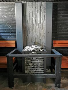 Asuntomessujen 2020 saunanostot ja saunatrendit – Saunologia.fi Outdoor Furniture, Outdoor Decor, Bench, Home Decor, Interior Design, Home Interior Design, Desk, Yard Furniture, Bench Seat