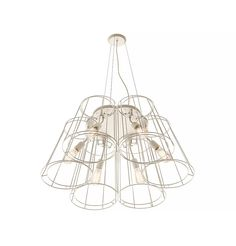 Florinda Desnuda Ceiling Lamp, Ceiling Lights, Pleated Fabric, Metal Finishes, Flower Shape, Fabric Covered, Chrome, Chandelier, Bulb