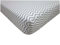 American Baby Company 100% Cotton Percale Fitted Crib Sheet, Zigzag Grey, http://www.amazon.com/dp/B009RLKBOS/ref=cm_sw_r_pi_awd_aAC0rb1D2E4YD