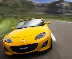 Our little ray of sunshine! #Mazda #MX5 #Florida
