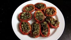 Check out our bonus video recipe! Stuffed Tomatoes, Food Videos, Zucchini, Side Dishes, Channel, Vegetables, Cooking, Check, Youtube