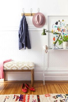 Beautiful entry: http://www.stylemepretty.com/living/2015/03/17/10-ways-to-get-organized/