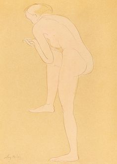 Naked woman bending over, vintage nude illustration. Figure Bending Forward with Right Knee Raised by Auguste Rodin. Original from The National Gallery of Art. Digitally enhanced by rawpixel. | free image by rawpixel.com / National Gallery of Art (Source) Abstract Oil, Abstract Print, Woman Sketch, Vintage Landscape, Auguste Rodin, Woman Illustration, National Gallery Of Art, Art File, Vintage Artwork