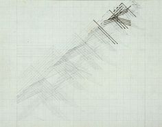 Nasreen Mohamedi, Untitled, ca. 1977. Pencil and ink on canvas, 7 x 9 in.