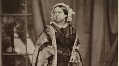 Wow. I have never seen this photo of Queen Victoria before. Taken on 15 May 1860 by John Jabez Mayall.