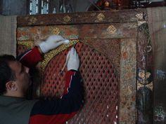 Kalemişi Piyale Paşa Camii Edirnekari temizliği /2006