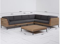 L shape Patio Set SS This Patio wooden sofa L-Shape is made from premium grade Indonesian teak wood. This sofa is suitable for outdoor and indoor . Corner Sofa Design, Sofa Bed Design, Living Room Sofa Design, Home Room Design, Living Room Designs, Wooden Sofa Designs, Wooden Sofa Set, Wood Sofa, Teak Wood
