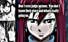 Fairy Tail, Erza Scarlet quote