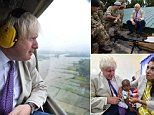Together with International Aid Secretary Priti Patel, the Foreign Secretary met victims of terrorist violence and helped malnourished children. Boko Haram, Home Inc, Boris Johnson, Secretary, Career, Homes, Heart, Travel, Sevilla