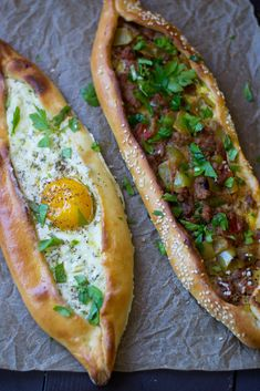 Turkish Pide (Turkish Pizza: 2 ways) - Samantha Ferraro