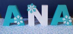 Letras 3D - Frozen