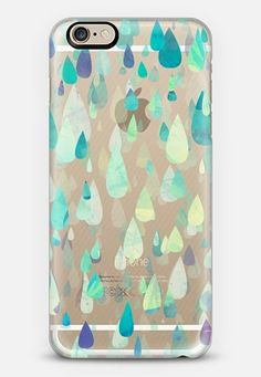 WOW! Check out this Casetify using Instagram and Facebook photos! Make yours and get $10 off using code: V59UQ2 #phone #case #casetify #blue #green #raindrops #iphone #android #stylish #cute #whimsical #fun