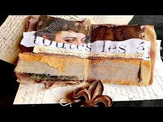 Mixed Media Passport Art Journal - YouTube Art Tutorials, Collage Techniques, Passport, Mixed Media Artists, Various Artists, Book Art, Sketch Books, Youtube, All Video