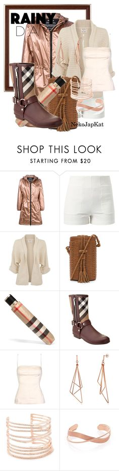 """rainyday5"" by neko-m-tucker-smith ❤ liked on Polyvore featuring Ecoalf, Lost Society, Cleobella, Burberry, D&G and Alexis Bittar"