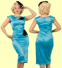 """""""Stop Staring"""" turquoise dress"""