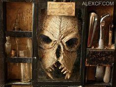 Assustador: Corpos de criaturas estranhas são encontradas em um porão de uma antiga casa em Londres ~ Sempre Questione - Notícias alternativas, ufologia, ciência e mais