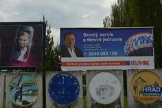 Ďalšie foto bilboardu počas májovej kampane RE/MAX z našej kancelárie RE/MAX Benard - kolega Ing. František Tropp :-)