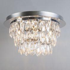 Plafonniere Jewel 2 chroom #binnenverlichting #nieuw #plafonniere #plafondlamp