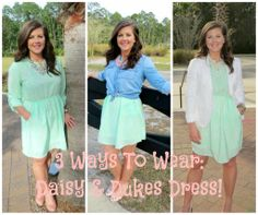 The Heathered Life: 3 Way To Wear: Daisy & Dukes Dress! (Plus a Giveaway!)