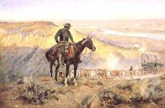 """Charles Russell """"The Wagon Boss"""""""