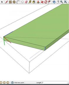 How to Make Angles in Google Sketchup | Ana White