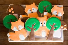 bella_fiore_decoração_festa_infantil_raposa_bosque_acampamento_laranja_azul bella_fiore_decor_kids_party_fox_wood_camping_orange_blue