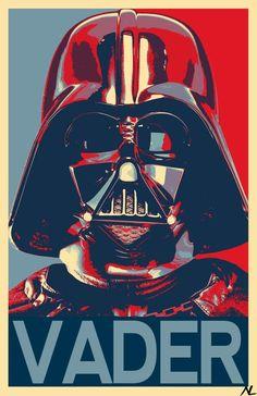 Darth Vader from Star Wars Illustration Sci-Fi Movie Pop Art Film Home Decor in Poster Print or Canvas - Ideas of Ray Star Wars - - Star Wars Darth Vader cartel político película película Darth Vader Star Wars, Rey Star Wars, Darth Maul, Star Trek, Darth Vader Poster, Star Wars Fan Art, 16 Tattoo, Tattoo Art, Portrait Vector