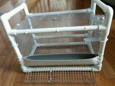 Quail-Portable-Cage 12 x 12 x 12