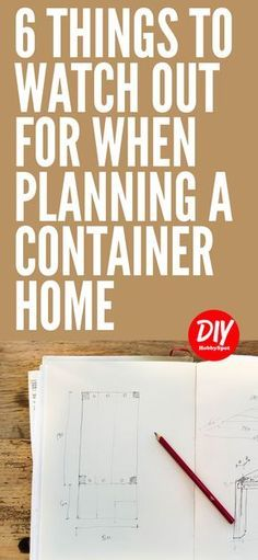 Container Homes are a great way to make your tiny house dreams come true. Using shipping containers can present some challenges. Here are some container house planning tips to help you out. #containerhouse #tinyhouse