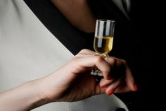 Classy Rings with Mini Glasses: Drink in Moderation