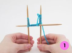 How to: Knitting with Double-Pointed Needles ~ some very good guidelines .... even though something else is being knit