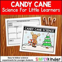 Included in this download is: parent letter for donations of candy canes, dissolving different kinds of candy canes, dissolving in different liquids, making observations and recording characteristics of candy canes and more!