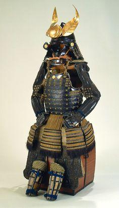 Nimaido Gosuko. Middle Edo Period Lacquered iron, leather, silk. From the Tokyo Fuji Arts Museum