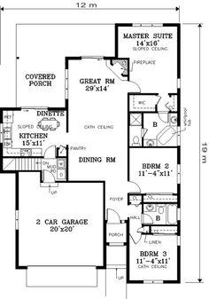 16 Denah Rumah Minimalis 2 Kamar Tidur | Desain Rumah Modern