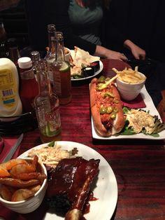 Awesome menu @CommonRoom Sheffield, very Man v. Food-esque. Deffo worth a visit.