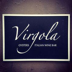 Virgola - 28 Greenwich Avenue (b/w Charles & W. 10th St), www.virgolanyc.com