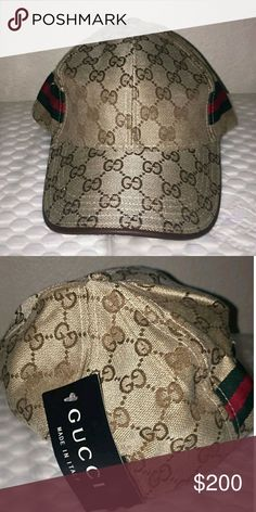 8ee71a12956 Gucci hat Gucci hat with tags Gucci Accessories Hats