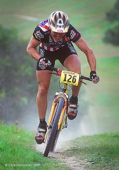 John Tomac was one of the early pioneers in American Mountain Biking. My first real MTB was a Tomac.