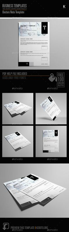 Dr Note  Doctors Note Template    Notes Template