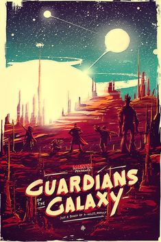 Gardiens de la Galaxie - Guardians of the Galaxy - Marvel Galaxy Movie, Galaxy Art, Movie Poster Art, Poster S, Poster Wall, Poster Rubric, Poster Layout, Marvel Art, Marvel Movies