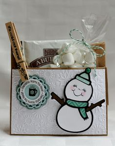 My Craft Spot: Monday Challenge #81 - Frosty Days