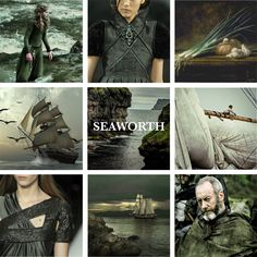 House Seaworth lords of Cape Wrath, Sworn to Baratheon of DragonstoneHouse Seaworth is a young noble house from the Stormlands, They blazon of their arms with a black ship on a pale grey background, with an onion on its sails. Although their keep is in the Stormlands, they are sworn not to House Baratheon of Storm's End but to House Baratheon of Dragonstone in the Crownlands and to King Stannis. House Seaworth was created after Davos, a common smuggler, slipped through the Redwyne fleet's…
